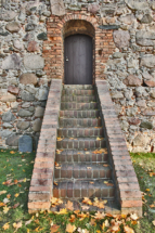 Eingang zur Kirche